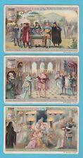 LIEBIG - SET OF 6 CARDS -  S 964  /  F 970  -  ROBERT LE DIABLE (OPERA)  -  1909