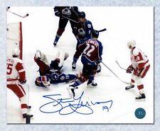 Steve Yzerman Detroit Red Wings Autographed 500th Goal 8x10 Photo