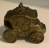 Cast Iron Stagecoach Trinket? Box Vintage Made in Japan