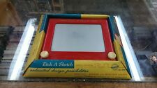 Etch A Sketch Toy Ohio Art / Vintage / 1950's EARLY VERSION Works Great w/ Box