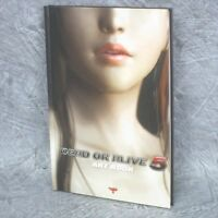 DEAD OR ALIVE 5 DOA5 PS3 XBox360 Art Book Illustration Ltd