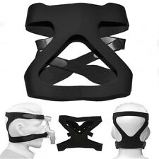 Universal Safe Full Mask Headgear Part Straps CPAP Head Band Replacement Black