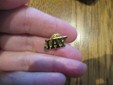 Initials JAY Goldtone Tie Tack Necktie Clasp