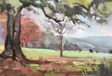 Christopher Assheton-Stones Original Modern Pastel Drawing Cumbria Landscape