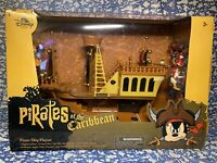 Disney Parks Pirates of the Caribbean Mickey Mouse Pirate Ship Deluxe Play Set