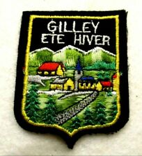 ECUSSON GILLEY ETE HIVER ♦ FRENCH CITY BADGE ♦