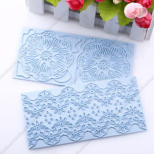 3D Lace Flower Cake Fondant Decorating Sugarcraft Cookie Cutters Mold