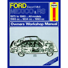 1975 Ford Escort Car Service & Repair Manuals