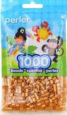 1000 Perler Gold  Color Iron On Fuse Beads: 80-19085