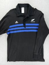 New Zealand All Blacks Adidas Rugby Jersey Shirt (Adult Large) Black