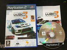 PS2 : WRC 3 the official game of the FIA world rally championship