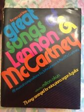 GREAT SONGS OF LENNON & MCCARTNEY 1973 FIRST PRINTING NEW YORK TIMES