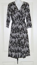 Womens size 12 grey & black stretchy dress made by TARGET