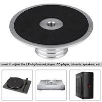 Plattengewicht Disc-Stabilisator Weight Clamp Silber für Plattenspieler NEU E1