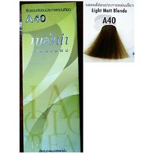 BERINA PERMANENT A40 COLOR HAIR DYE LIGHT MATT BLONDE 60 ML.PROFESSIONAL USE