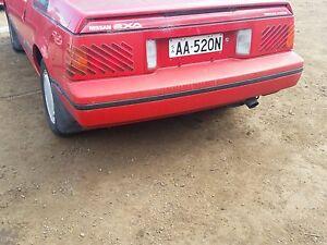 nissan exa rear bumper