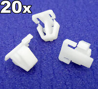 20x Honda Plastic Trim Clips- For exterior door mouldings side trims & bumpstrip