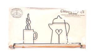 Classico Motivi Caffè Pentola 40.6cm Tessuto Supporto Con Perno