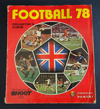 Panini 78 Football Sticker Album, Complete Set