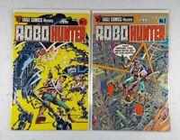 Eagle Comics Robo-Hunter #1 & #2 Bagged & Boarded Set Lot - Free Shipping!