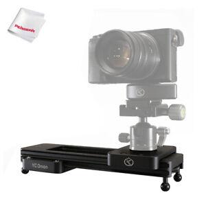 YC Onion Chocolate Manual Mini Camera Slider for DSLR Mirrorless Camera Gopro