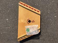 The Music Maker Nepenenoyka Lap Harp/Dulcimer Musical Instrument & Box Belarus