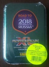 PANINI ADRENALYN XL Road to 2018 World Cup Russia Mini Tin Box Limited DE BRUYNE