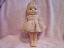 "40's Occupied Japan plastic Betty Boop doll carnival 9"" tall powder shaker"