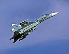A Belarusian Su-27UBM Airplane in Flight. Airplane .  11x14 Print