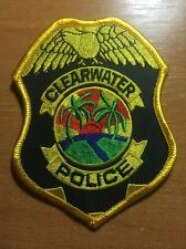 PATCH POLICE CLEARWATER - FL FLA FLORIDA
