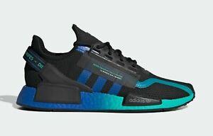 adidas Originals NMD_R1 V2 FY5913 Core Black Blue Footwear White