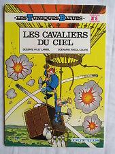 LES TUNIQUES BLEUES 8 LES CAVALIERS DU CIEL LAMBIL CAUVIN 1982 SUPERBE ETAT
