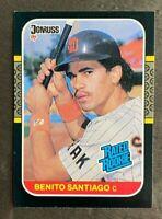 1987 Donruss Benito Santiago #31- Rookie Card (RC) - San Diego Padres - NM-MT
