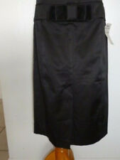 New STAR CITY Juniors' Below Knee Black Polyester Casual Pencil Skirt Size 7