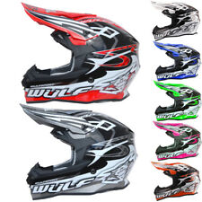 Wulfsport Sceptre Adult Motorbike Motocross Helmet Motorcycle ATV Quad ACU Gold