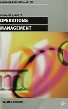 Operations Management (Palgrave Professional Masters (Busine by Howard Bar - PB