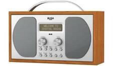 Bush Bluetooth Wireless DAB & FM Portable Wooden Digital Radio - Batteries/Mains