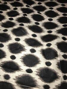 Pottery Barn PB Teen Pair Organic Cotton Pillow Shams Black White Standard