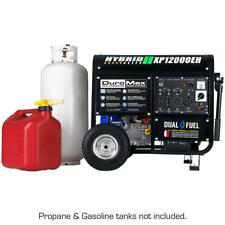Gasoline Propane Generator 12000 Watt  Dual Fuel Powered Portable Electric Start