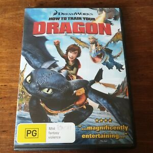How to Train Your Dragon DVD R4 Like New! FREE POST
