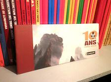10 ans, 1996-2006 - Editions PAQUET - Format Italien - BD