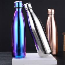 New Cycling Vacuum Insulated Water Bottle Plating Stainless Steel Sports Bottle