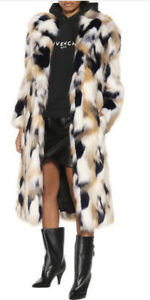 Givenchy Faux Fur coat jacket -With Tags- RRP$6,750 AUD