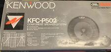 "Kenwood KFC-P502 Component 5"" Speaker System **NEW** OLD SCHOOL"