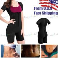 Neoprene Sauna Vest Body Shaper Sweat Suit /& Sleeves Spa Faja Hot Slimming Run