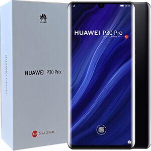 BNIB Huawei P30 Pro Dual-SIM 128GB ROM+6GB RAM Black Factory Unlocked 4G SIMFree