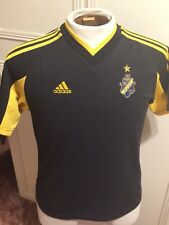 """AIK Fottball 1891 Adidas Home Football Polo Shirt 38"""" Medium Chest 2581830b6"""