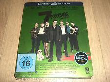 7 Psychos Limited Edition Blu-Ray Steelbook NEU