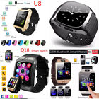 2017 Bluetooth Smart Watch SIM Phone Mate Waterproof For IOS Samsung Android New
