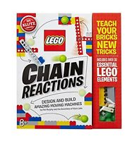 Lego Chain Reactions: Design and Build Amazing Moving Machines (Mixed Media Prod